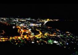 函館山に夜景を見に行きました